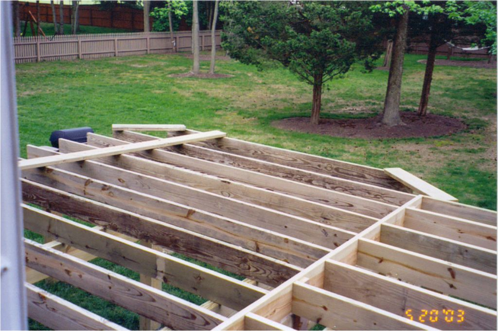 Deck Construction Tips : Deck framing techniques pictures to pin on pinterest